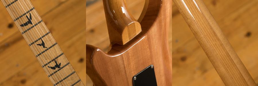 PRS SE Custom 24 Quilt Trampas Green Torrified Maple Neck Ltd
