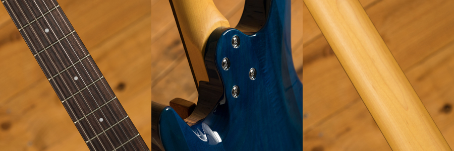 Schecter C-6 Plus Ocean Burst Blue