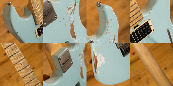 Friedman Cali Guitar Sonic Blue Maple HH