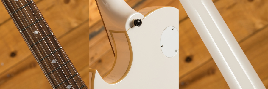 "Epiphone George Thorogood ""White Fang"" ES-125 TDC Signature"