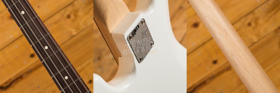 Fender American Performer Jazz Bass Rosewood Arctic White