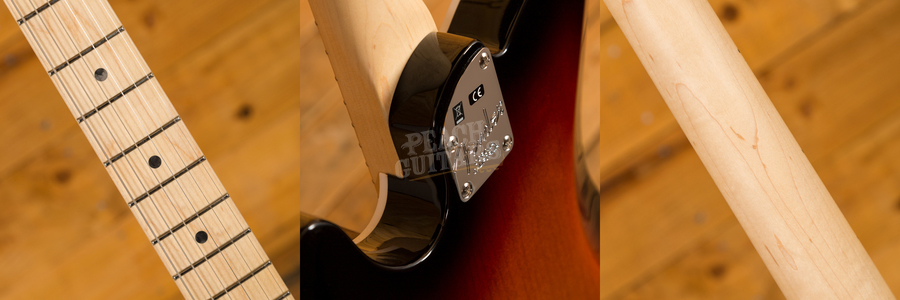 Fender American Elite Tele Maple 3 Tone Sunburst