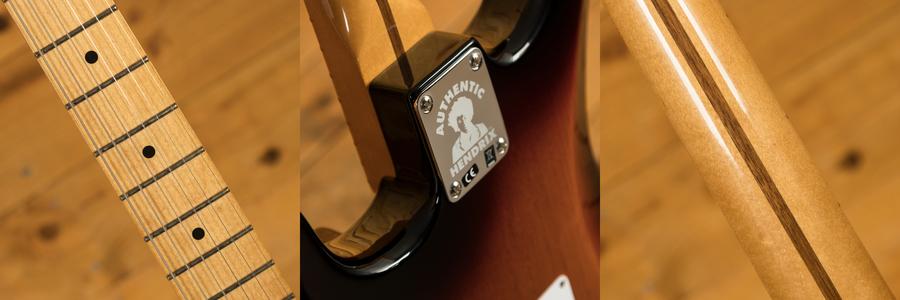 Fender Jimi Hendrix Strat - 3 Colour Sunburst