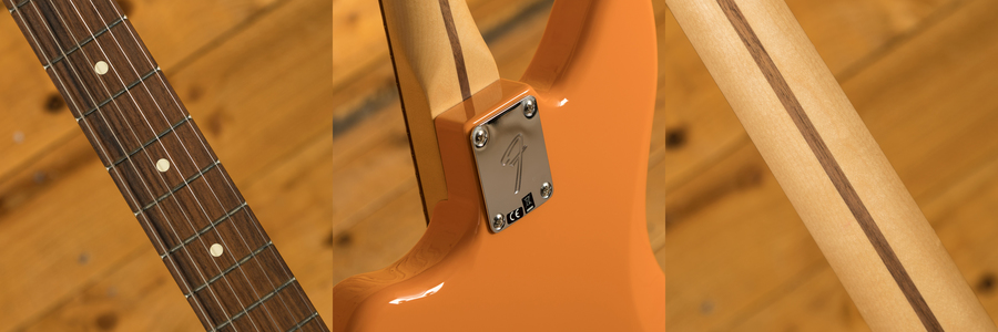 Fender Player Series Jazzmaster Capri Orange Pau Ferro
