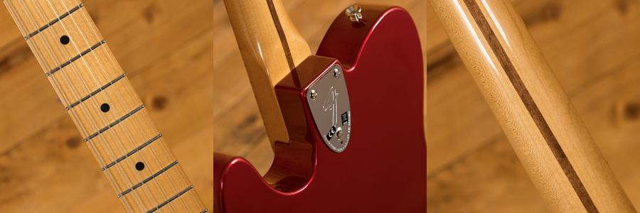 Fender Vintera 70s Tele Thinline Candy Apple Red
