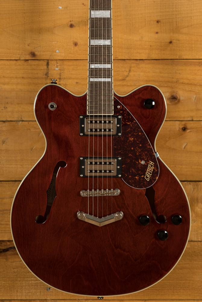 Gretsch Streamliner G2622 Walnut Stain Peach Guitars