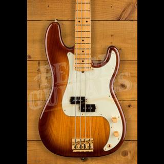 Fender 75th Anniversary Commemorative P Bass 2-Colour Bourbon Burst