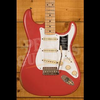 Fender Vintera Road Worn 50's Strat Fiesta Red