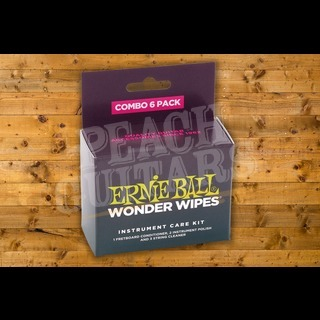 Ernie Ball Wonder Wipes Combo 6 Pack
