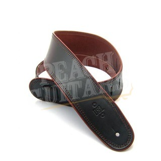 "DSL GEP-25-15-2 2.5"" Leather Black with Brown piping"