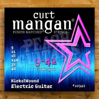 Curt Mangan 9-42 Nickel Wound