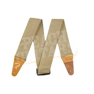 Fender Guitar Strap - Gold/Brown Tweed
