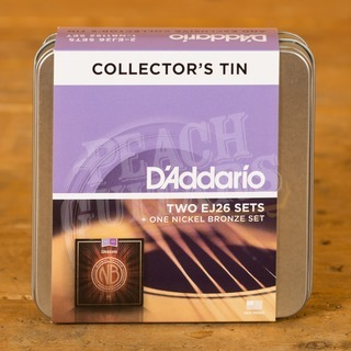 Daddario DA-UK06 Two Sets Of EJ26 + 1 Set Of NB1152 With Tin 11-52