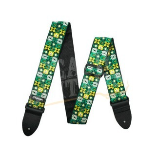Jim Dunlop Guitar Strap USA Winterland Green