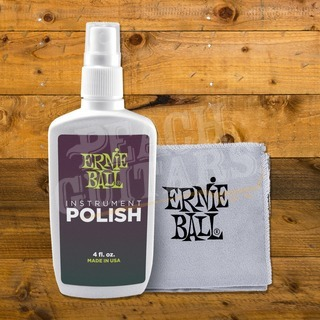 Ernie Ball Guitar Polish & Cloth