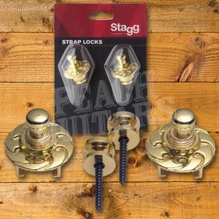 Stagg Straplocks Gold