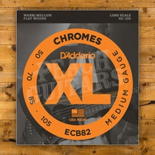 D'addario ECB82 SET BASS CHROMES 50-105 LONG