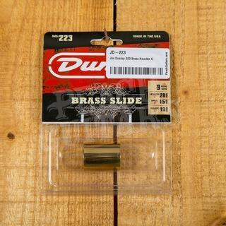 Jim Dunlop 223 Brass Knuckle Slide Medium