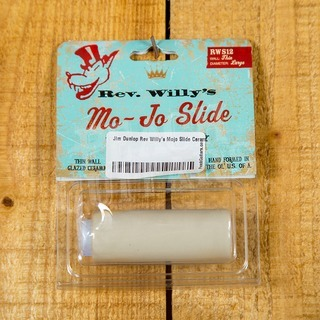 Jim Dunlop Rev Willy's Mojo Slide Ceramic Slide Large