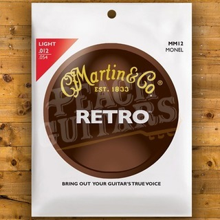 Martin Retro Monel 12-54 Light