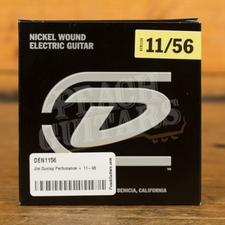 Jim Dunlop Perfomance + 11-56 Nickel Wound Electric Guitars Strings