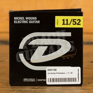 Jim Dunlop Perfomance + 11-52 Nickel Wound Electric Guitars Strings