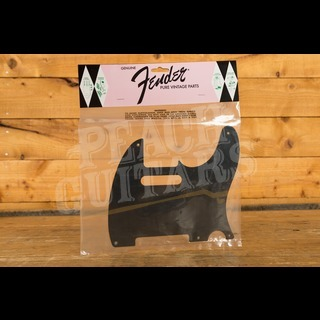 Fender Pickguard for 52 Tele Black 5 Hole 1 Ply