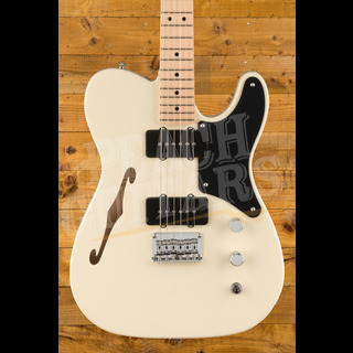 Squier Paranormal Carbronita Telecaster Olympic White