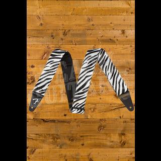 Fender Wild Zebra Print Strap