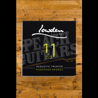 Lowden Extra light 11-52 acoustic guitar strings