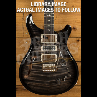 PRS Special Semi Hollow Charcoal Burst Pattern