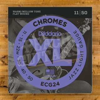 D'addario Chromes Jazz Light 11-50 ECG24