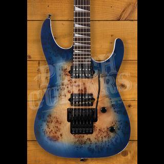 Jackson MJ Series Dinky DKRP, Ebony Fingerboard, Transparent Blue Burst