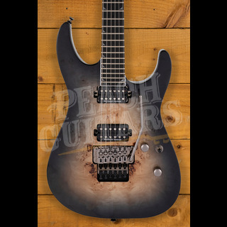Jackson Pro Series Soloist SL2P MAH, Ebony Fingerboard, Transparent Black Burst