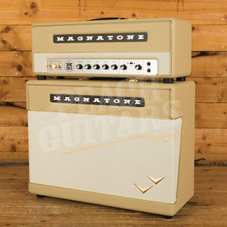 Magnatone Super Fifty Nine M-80 and 2x12 Cab Limited Edition Gold