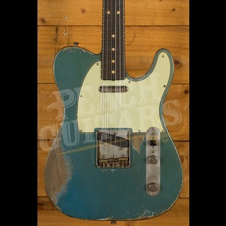 Fender Custom Shop '63 Tele Dale Wilson Heavy Relic Rosewood Lake Placid Blue