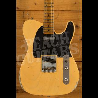 Fender Custom Shop '52 Tele Relic Roasted Maple Neck Nocaster Blonde
