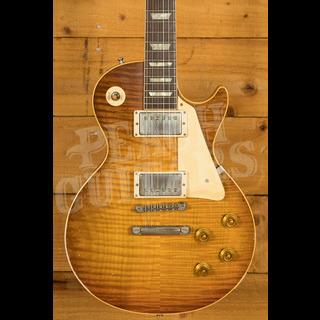 Gibson Custom Murphy Lab HP Top 59 Les Paul Royal Tea Burst Light Aged Murphy Painted