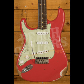 Fender Custom Shop '61 Strat Relic/CC Hardware Fiesta Red Left Handed