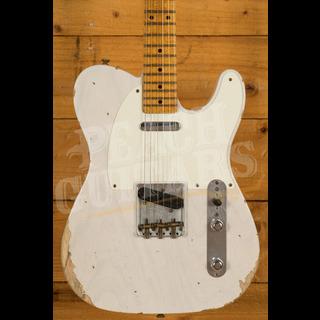 Fender Custom Shop '52 Tele Relic Roasted Maple Neck White Blonde