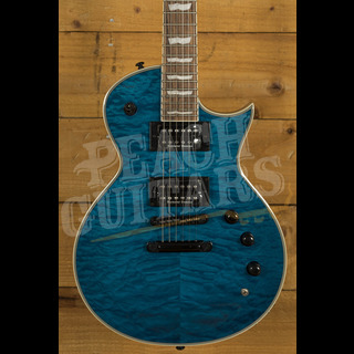 ESP LTD EC-1000 PIEZO QM See Thru Blue
