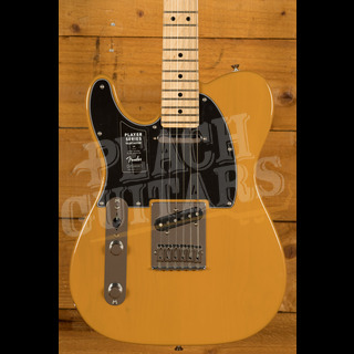 Fender Player Series Tele Left Handed Maple Neck Butterscotch *B Stock*