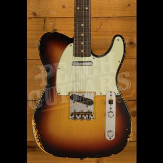 Fender Custom Shop '60 Tele Relic 3 Tone Sunburst