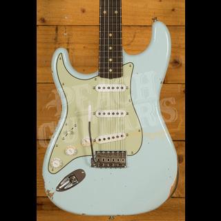 Fender Custom Shop '61 Strat Relic/CC Hardware Sonic Blue Left Handed