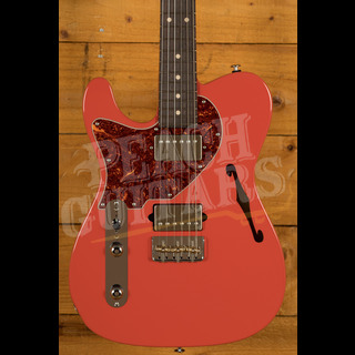 Suhr Alt T Dealer Select - Fiesta Red w/Roasted Maple/RW Left Handed