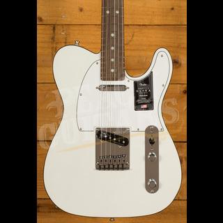 Fender American Ultra Telecaster Arctic Pearl Rosewood