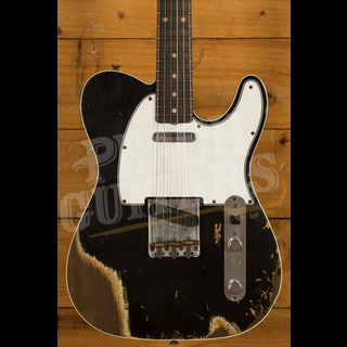 Fender Custom Shop '62 Tele Custom Heavy Relic Black
