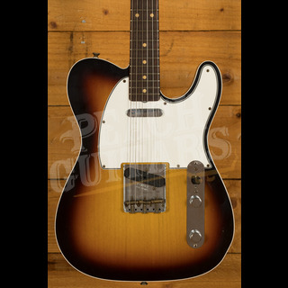 Fender Custom Shop '62 Tele Custom Journeyman Relic 3 Tone Sunburst