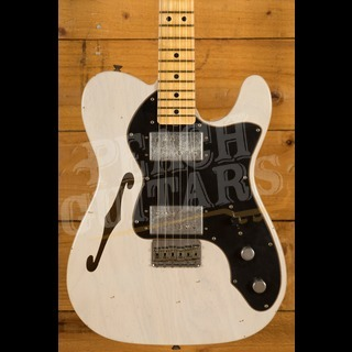Fender Custom Shop 2020 Ltd 72 Tele Thinline Aged White Blonde