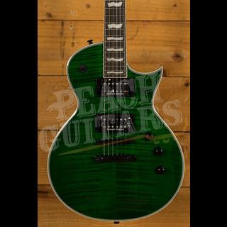 ESP LTD EC-1000 FM See-Thru Green